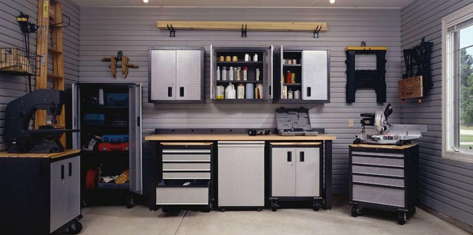 Gladiator GarageWorks Premier Cabinets By Whirlpool   Made In USA
