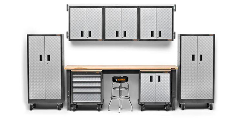 Gladiator GarageWorks Premier Cabinets By Whirlpool