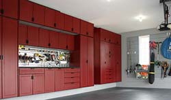 REDLINE GARAGE GEAR CUSTOM CABINETS