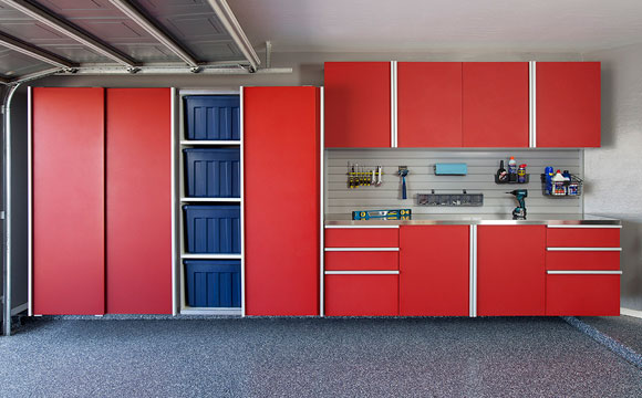 Garage Strategies Garage Floor Coating Garage Cabinets