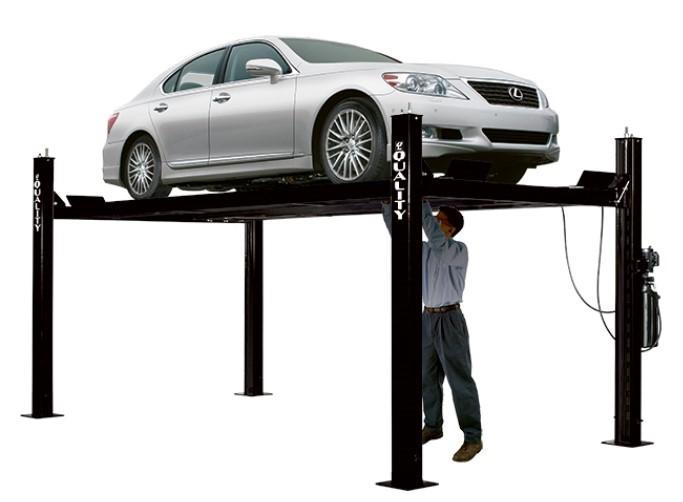 4 Post Car Lift   Garage Strategies   Edmonton