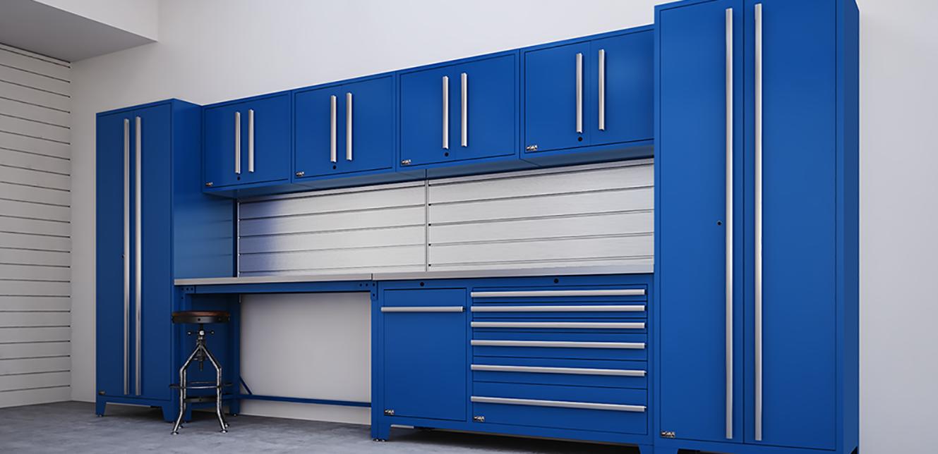 Custom Garage Cabinets Edmonton